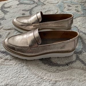 A New Day metallic loafers